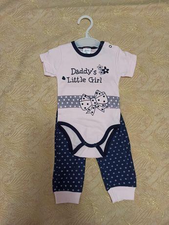 Нарядний костюм для дівчинки.