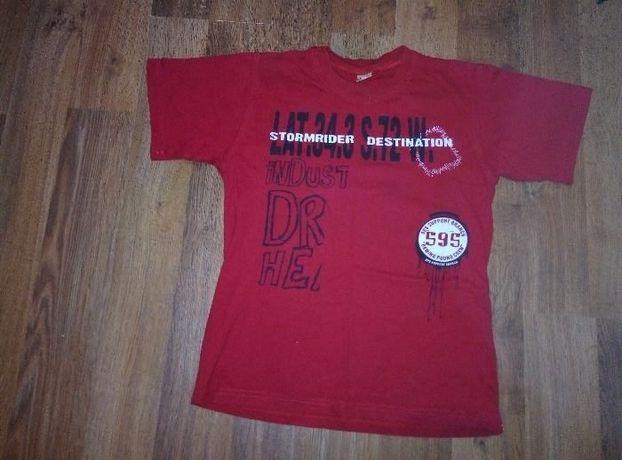 Хлопковая футболка для физкультуры на мальчика 10-11 лет