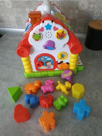 """Музыкальный домик """" весёлый домик """" Hola Toys"""