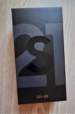 Samsung Galaxy S21+ 8 GB / 128 GB czarny - stan idealny