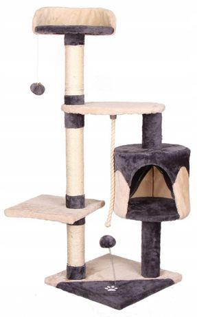 Nowy Drapak dla kota drzewko legowisko Domek 112cm KURIER 0zł DPD