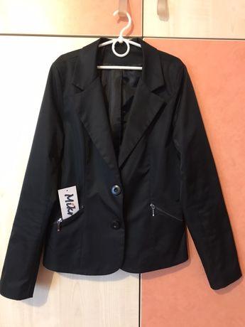 Школьный пиджак для девочки Mikrus