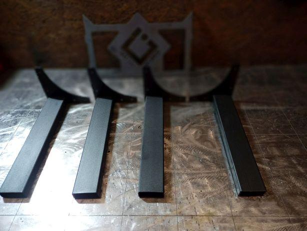 Nogi metalowe do blatu stołu. Cena za komplet. Loft Industrial