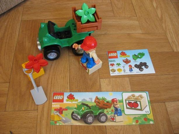 Lego Duplo 5645 Quad farmera plus przyczepka