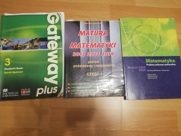 Pomoce naukowe i książki do liceum/technikum