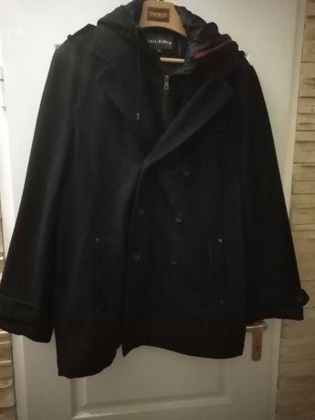 Płaszcz męski z kapturem Casa Blanca, roz.XL.