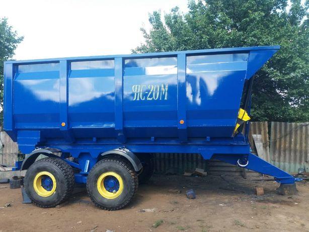 Переоборудование навозоразбрасывателей ПРТ, РОУ на прицеп зерновоз