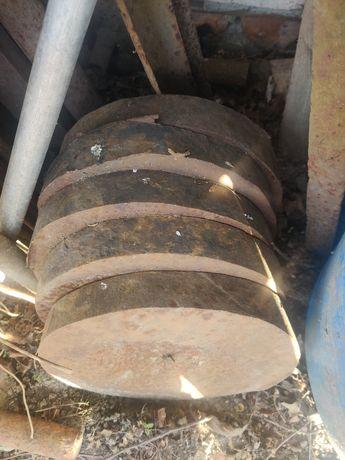 Круг 250мм метал х12 мф