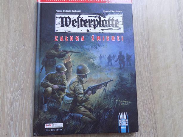 Komiks Westerplatte+ podpis autora