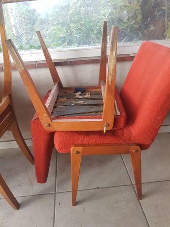 Krzesła AGA prl do renowacji