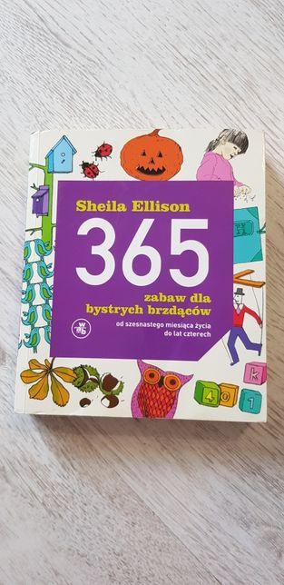 """""""365 zabaw dla bystrych brzdącow"""" zabawy dla dzieci od 16 mcy do 4 lat"""