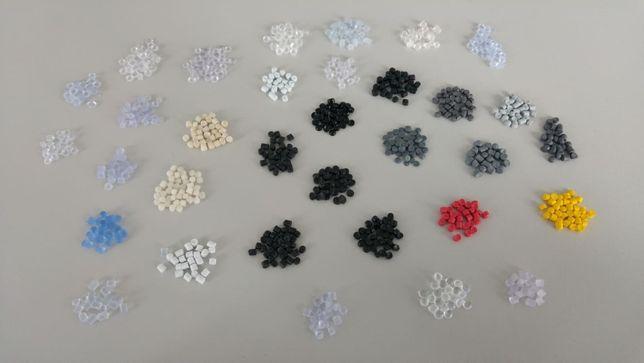 Granulat PCV PVC PCW Miękki 60-99ShA (różne kolory) końcówki prod.