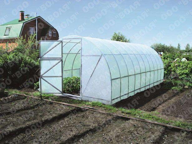 Szklarnia ogrodowa, przydomowa z folii, stalowa Dacznaja-2DU