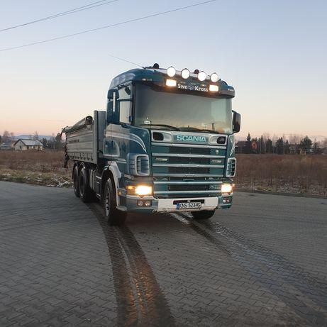 Scania r580v8 wywrotka kiper nie man volvo daf zamiana