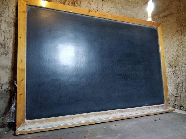 Tablica szkolna czarna 142  x 213