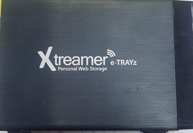 eTRAYz Xtreamer serwer sieciowy NAS z HDD Unicorn (2x SATA)