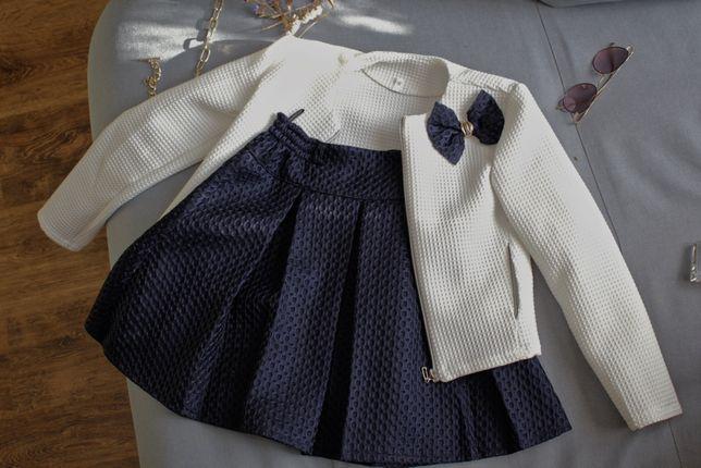 Пиджак и юбочка\костюм для девочки