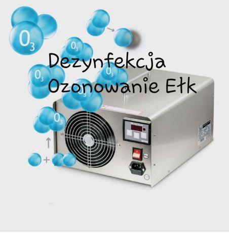 Dezynfekcja Ozonowanie Ełk