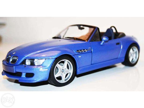 Bmw z 3 m roadstar cabrio 1994 ut models 1:18 carro colecção