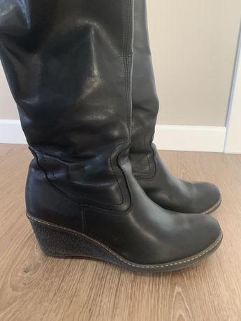 sliczne skorzane buty damskie lasocki 40 / 39 skora