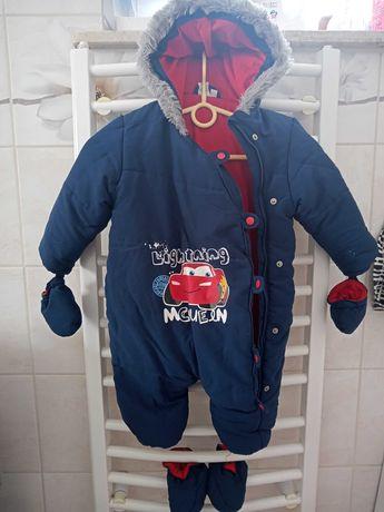 Kombinezon zimowy dla chłopca 86