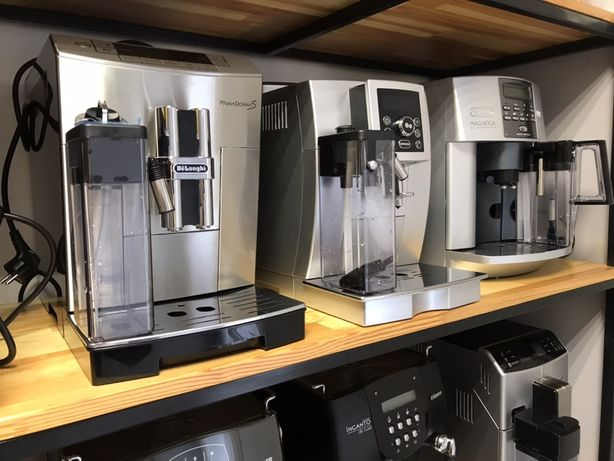 Кавоварки кофемашини Jura Saeco Delonghi Krups Philips
