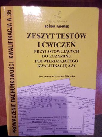 Zeszyt testów i ćwiczeń przygotowywujących do egzaminu na A.36