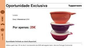 Tupperware Batedeiras 2,75L - Tigelas Rosa, Roxo, Salmão