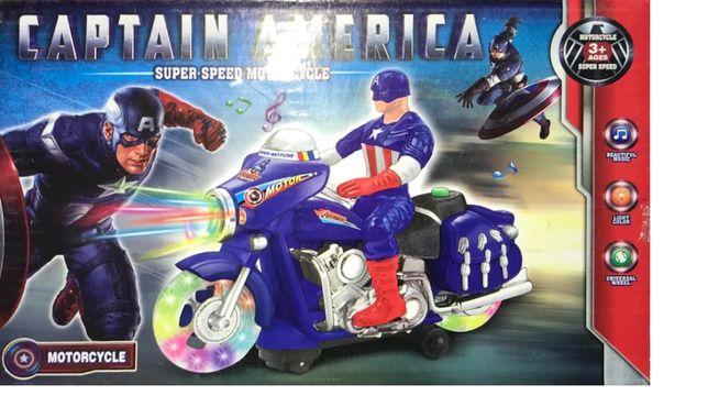 Figurka Kapitan Ameryka na Motocyklu Zabawka