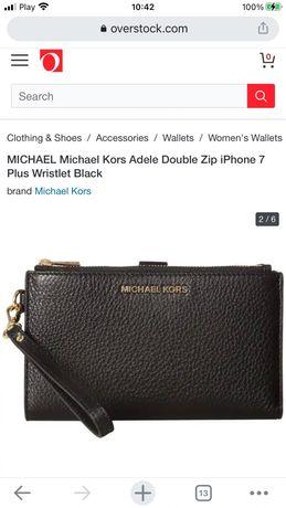Michael kors Adele Double Zip portfel