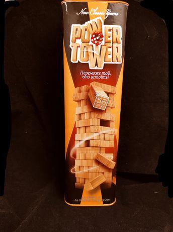 Настольная Игра повер тавер (Power tower)
