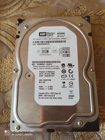 80Gb IDE Western Digital 3.5 WD800BB 7200rpm