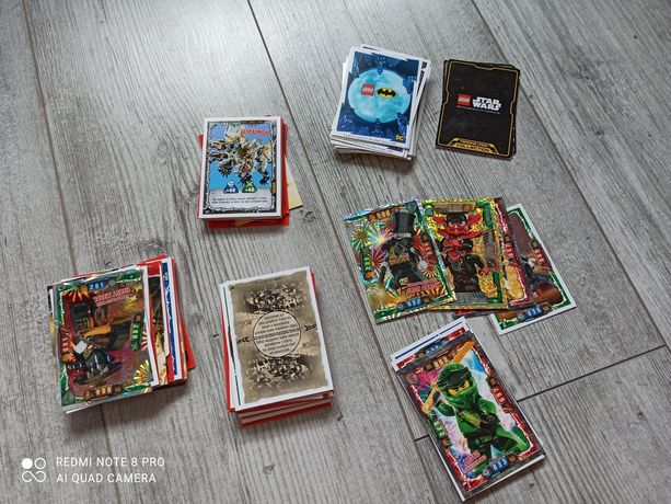 Karty Lego Ninjago i Batman
