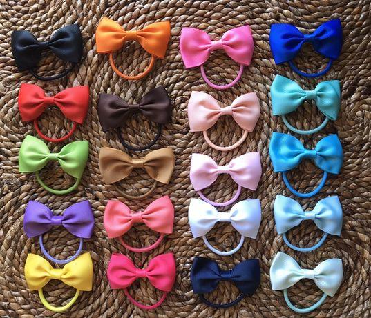 Conjunto de 20 Elásticos de Cabelo para menina - ENVIO INCLUIDO