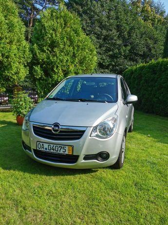 Opel Agila - 114 tys. przebiegu - sprowadzony