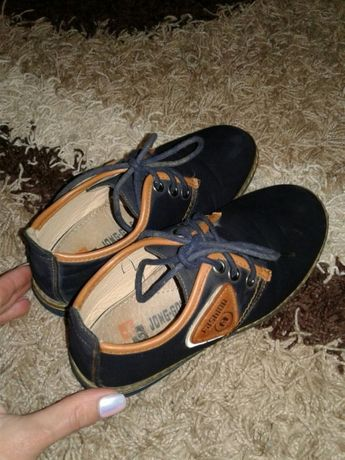 Детские осенние туфли для мальчика