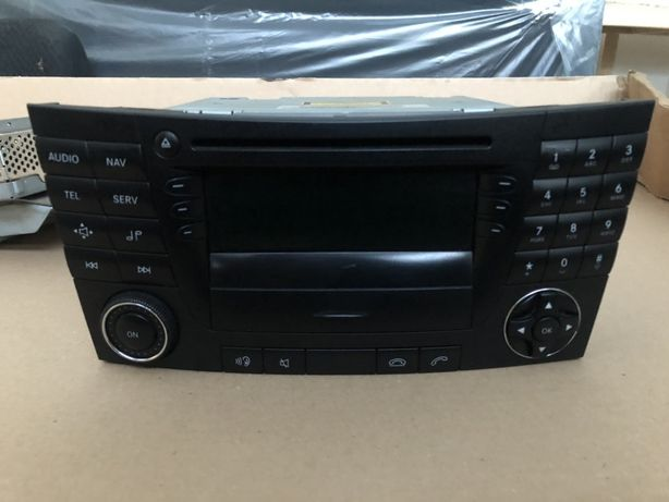 Команд comand navi radio cd mercedes W211 рестайл