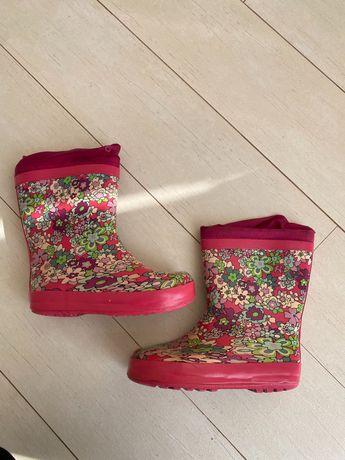 Продам розовые резиновые сапоги , 29 размера