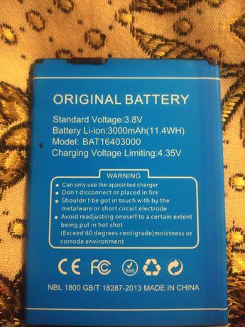 Продам аккумулятор батарею на doogee x6 pro
