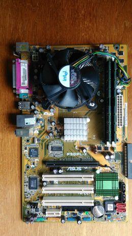 Компьютер Asus P5GPLX, s775, Pentium 630, 2Gb