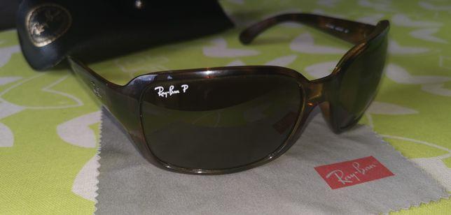 Óculos Ray-Ban polarizado.