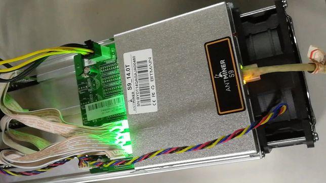 Продам Asic antminer s9  мощность 14 TH/s