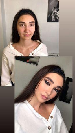 Макияж, профессиональный макияж, причёски