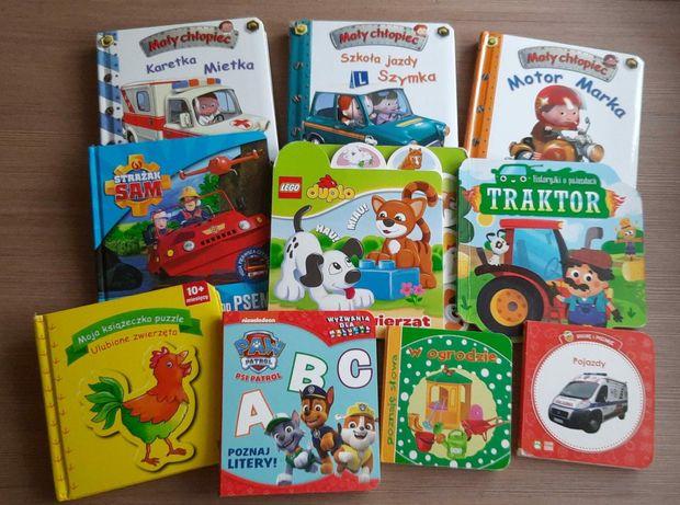 Książeczki dla dzieci seria mały chłopiec i inne