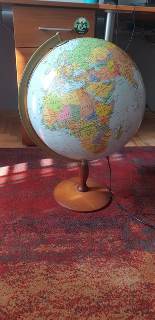 Globus lampka
