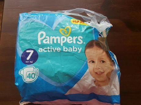 Pieluszki Pampers 25 sztuk zostało! Duże Kinder i Wasze!