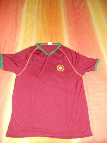 Pack de 5 camisolas seleção nacional tamanho M mais chapéu e cachecóis