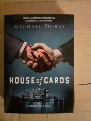 """Sprzedam książkę """"House of cards"""""""