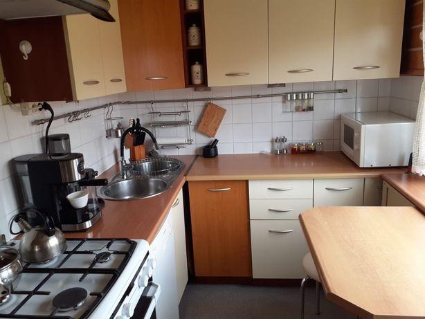 Meble kuchenne narożne+zlewozmywak + stolik - stan bdb-Boleslawiec