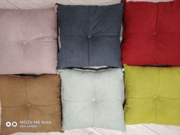 Декоративные подушки на диван. Декор. Диванные подушки.40*40 см